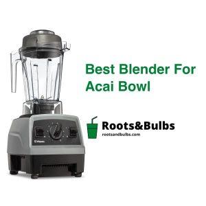 Best Acai Bowl Blender
