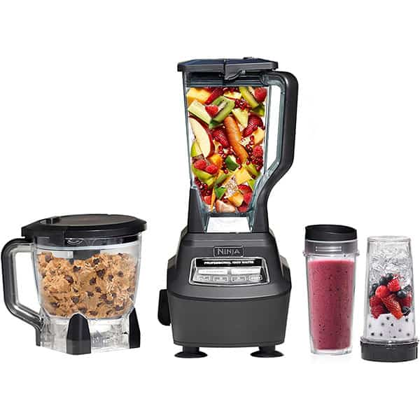 Processed Foods using Ninja Mega Kitchen System (BL770) Blender Food Processors