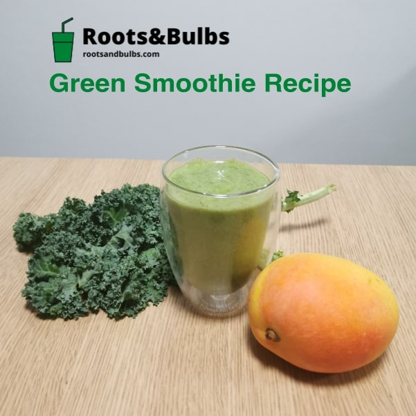 Green Smoothie Recipe Kale and Mango