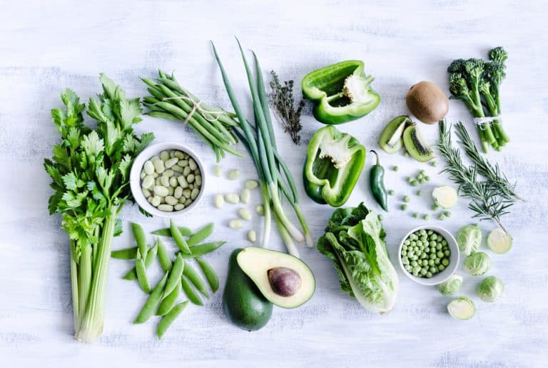 A Variety of Vegetables for Blender
