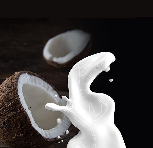 Coconut milk, a milk and yogurt alternative