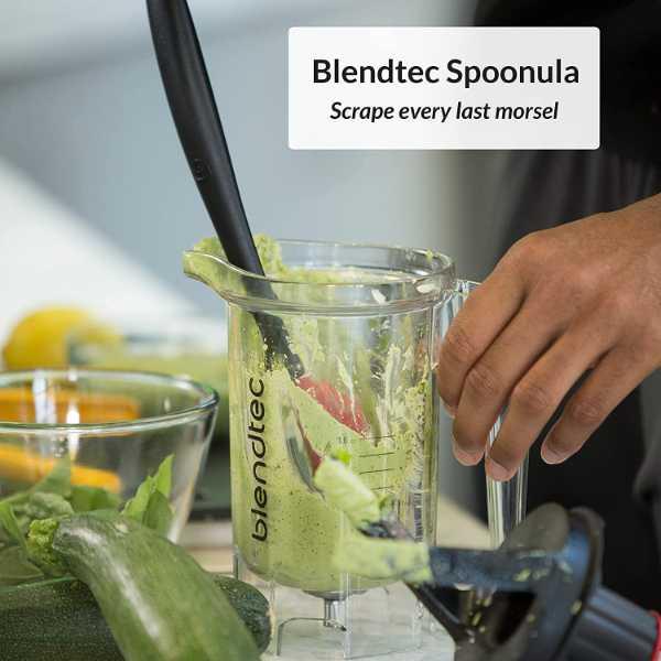Cucumber and vegetable blend using Blendtec Classic 575 Blender