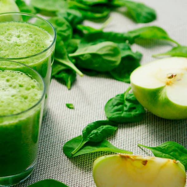 Vegetable puree made using the Vitamix 750 blender
