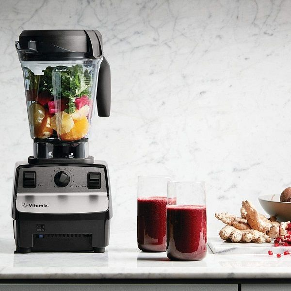 Vitamix 5300 Blender with vegetables and fruits ready for blending