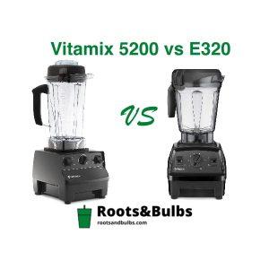 Vitamix E320 vs 5200
